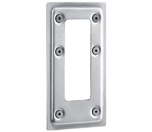 Flush Fitting Toggle Latch Surround Plate Stainless Steel (Natural)