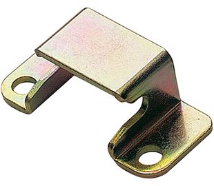 Keeper Plate for ProLatch Mild Steel Zinc Plate Passivate (Yellow)