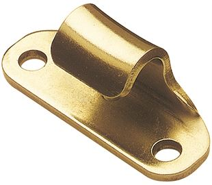 Catch Plate for Toggle Latch Carbon Steel Zinc Plate Passivate (Yellow)