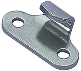 Catch Plate for Toggle Latch Carbon Steel Zinc Plate Passivate (Silver Blue)