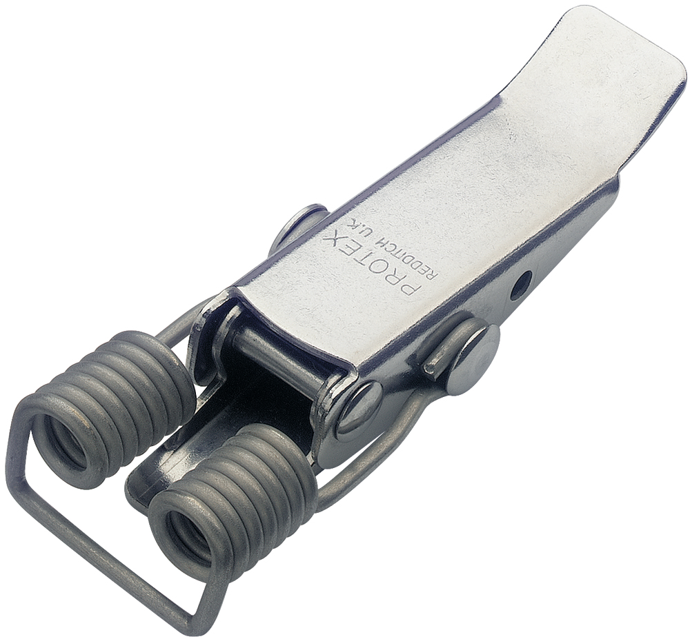 Spring Claw Latch Medium Duty Stainless Steel (Natural)