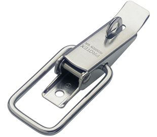 Non-Adjustable Latch Medium Duty Padlockable Stainless Steel (Natural)