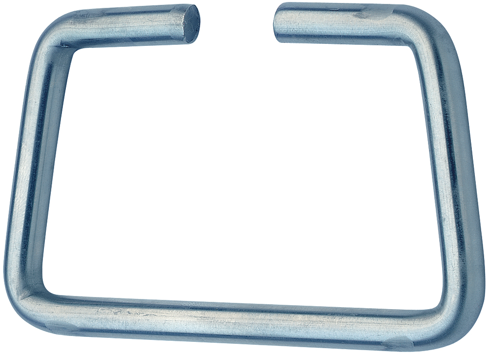 Handle Mild Steel Zinc Plate Passivate (Silver Blue)