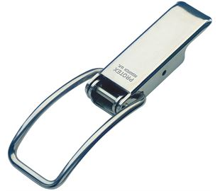 Spring Claw Latch Medium Duty Mild Steel Zinc Plate Passivate (Silver Blue)