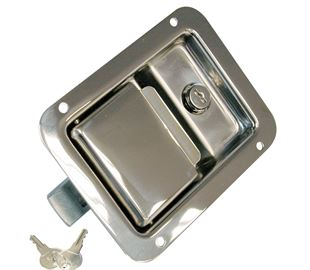 Paddle Latch Lockable, Stainless Steel