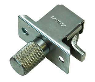 Compression Latch, Knob Actuated, Self Adjusting,  Steel