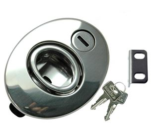 Push To Close Latch, Lockable, Stainless Steel 316