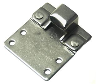 Keeper Plate with Extension Plate for CatchBolt Stainless Steel (Natural)