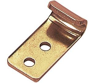 Catch Plate for Toggle Latch Mild Steel Zinc Plate Passivate (Yellow)