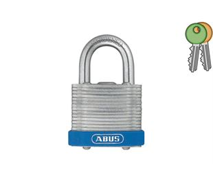Laminated Steel Padlock with 9mm Diameter Hardened Steel Shackle