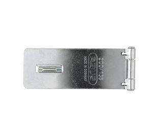 Hasp and Staple Mild Steel Zinc Plate Passivate (Silver Blue)