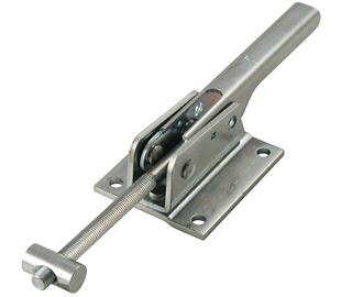 Adjustable Toggle Latch Heavy Duty Padlockable Stainless Steel (Natural)