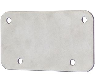 Handle Backing Plate Stainless Steel (Natural)
