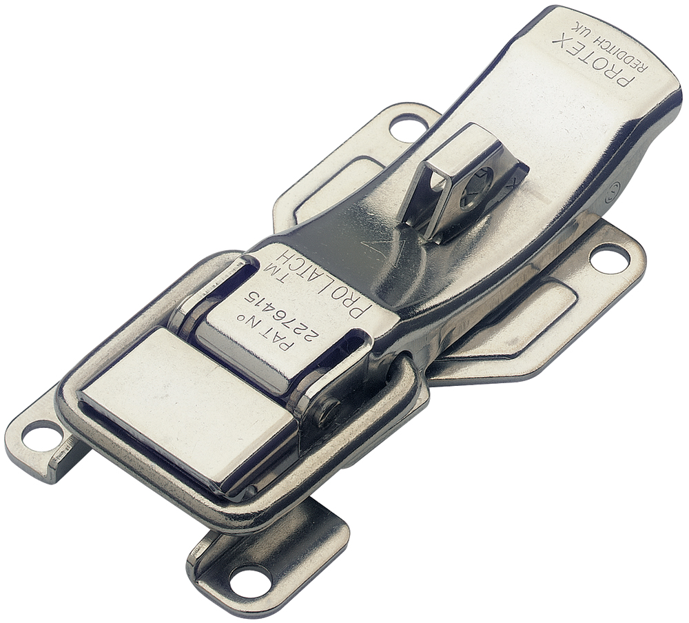ProLatch with Safety Catch & Padlockable Stainless Steel (Natural)