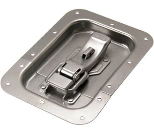 ProLatch in Recess Dish with Safety Catch Stainless Steel (Natural)