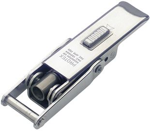 Spring Claw Latch with Safety Catch Medium Duty Stainless Steel (Natural)