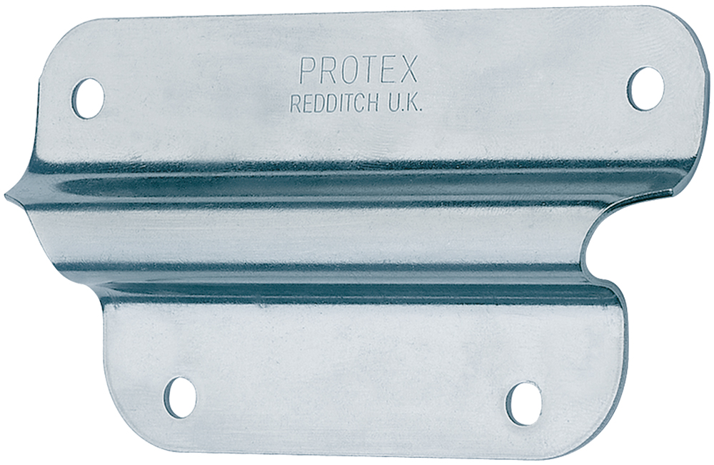 Handle Retaining Plate Mild Steel Zinc Plate Passivate (Silver Blue)