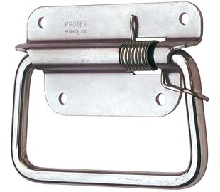 Spring Loaded Handle Stainless Steel (Natural)