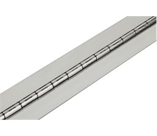 1016mm X 63mm X 2mm Mild Steel Continuous Hinge (Natural)