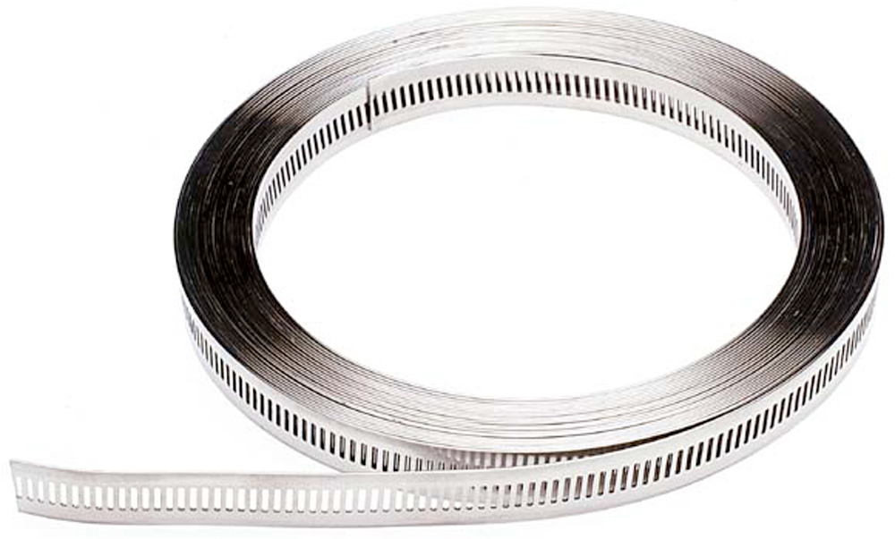 Multi-Torque Strip 10 Metre Roll Stainless Steel (Natural)