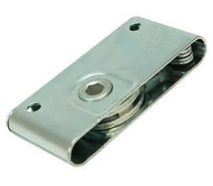 Draw Latch, Concealed, Zinc Plated