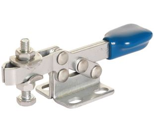 Toggle Clamp Horizontal Action Adjustable Bar Stainless Steel (Natural)